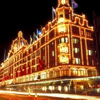 4- harrods at christmas